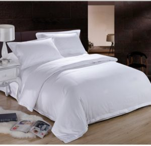 pure-white-hotel-home-textile-100-cotton-bedding-set-queen-king-size-4pc-solid-color-duvet