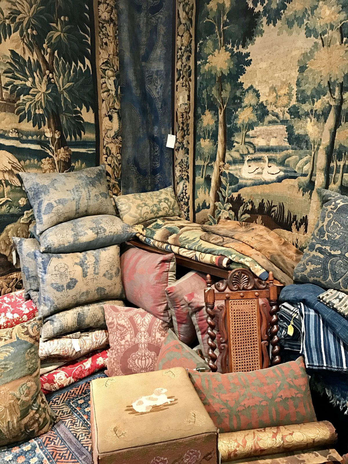 Fun Finds at the Decorative Antiques & Textiles Fair