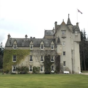 Exterior of Ballindalloch castle